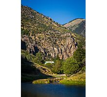 Causey Reservoir Camp Photographic Print