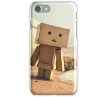 Danbo on the Beach iPhone Case/Skin