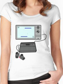 Pong TV Women's Fitted Scoop T-Shirt
