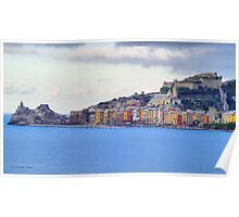 A View of Portovenere Poster