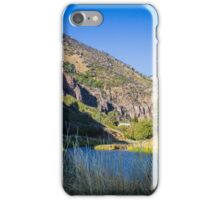 Causey Reservoir Camp iPhone Case/Skin