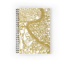 Rome map Spiral Notebook