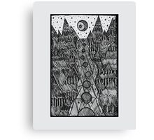 Moonglade on the River Canvas Print