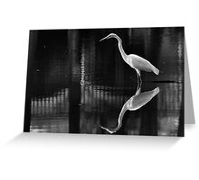 Harmony Crane Greeting Card