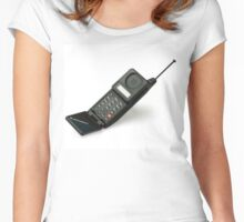 Flip Phone Motorola Women's Fitted Scoop T-Shirt