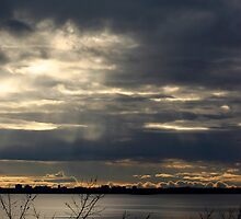 Here Comes the Sun - Lighting Up the Clouds by Debbie Pinard