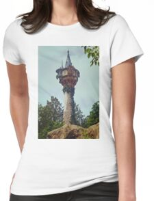 The Lost Tower Womens Fitted T-Shirt