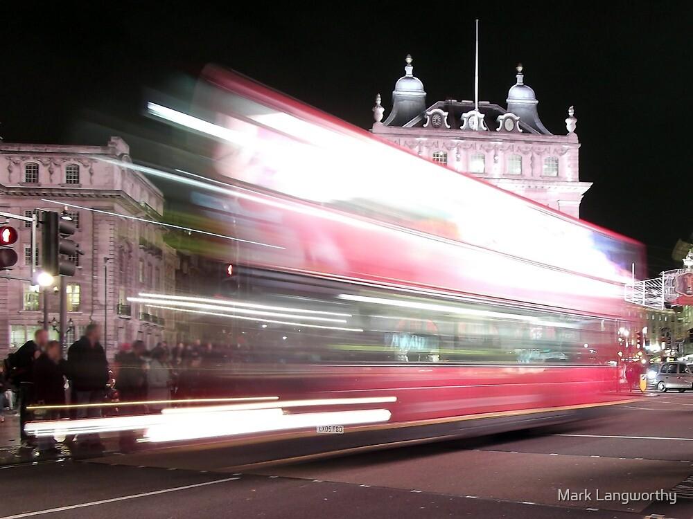 London Bus by Mark Langworthy