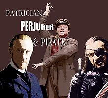 The Patrician, the Perjurer and the Pirate - Going Postal by mokacat
