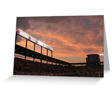 Oriole Park at Sunset Greeting Card