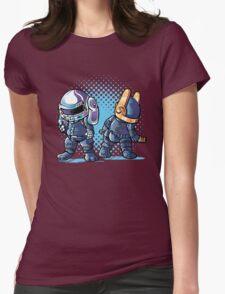 Daft Buns Womens Fitted T-Shirt