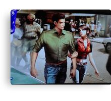 Chris and Claire Redfield. Canvas Print