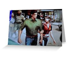 Chris and Claire Redfield. Greeting Card