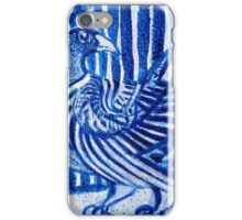 Strong Blue Sankofa iPhone Case/Skin