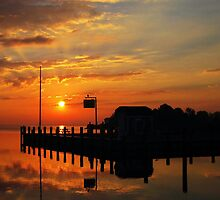 Toms River Sunrise by DCphotographs