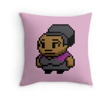 8-Bit Shirley Bennett Throw Pillow