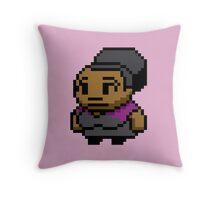 8-Bit Shirley Bennett Throw Pillow