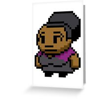 8-Bit Shirley Bennett Greeting Card