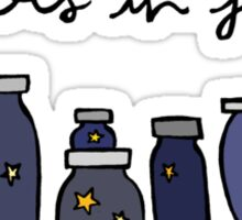 Stars in Jars Sticker