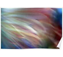 Flower Color Abstract Poster