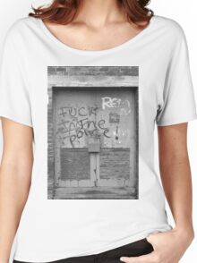 F*** the Police Women's Relaxed Fit T-Shirt