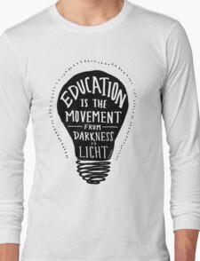 Education Long Sleeve T-Shirt