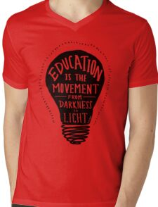 Education Mens V-Neck T-Shirt