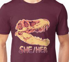 Tyrannosaurus Rex Skull Unisex T-Shirt