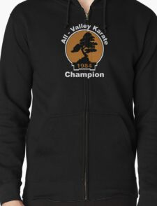 All Valley Karate Champion Zipped Hoodie