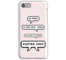 BTS / IN FIRES, MAN! iPhone Case/Skin