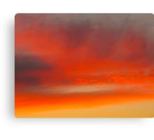 Twilight Zone Sunset Canvas Print