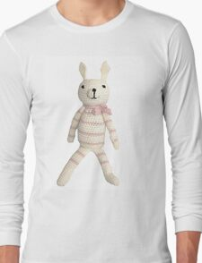 Knitted Character Long Sleeve T-Shirt
