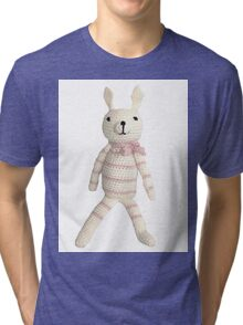 Knitted Character Tri-blend T-Shirt