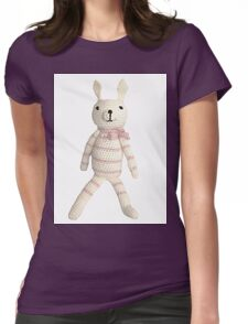 Knitted Character Womens Fitted T-Shirt