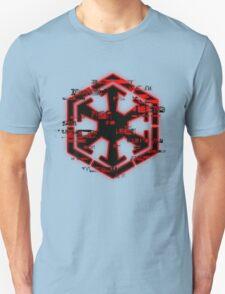 Glitched Sith Symbol Unisex T-Shirt