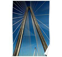 Ashley River Bridge Poster