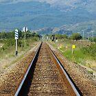 train track  by Jodie E