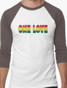 One Love Men's Baseball ¾ T-Shirt
