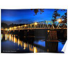 Washington's Crossing Bridge Poster