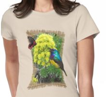 Aeonium succulents in flower Womens Fitted T-Shirt