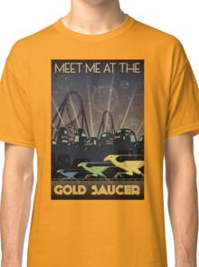 Final Fantasy VII Gold Saucer Travel Poster Classic T-Shirt