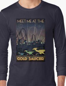 Final Fantasy VII Gold Saucer Travel Poster Long Sleeve T-Shirt