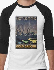 Final Fantasy VII Gold Saucer Travel Poster Men's Baseball ¾ T-Shirt