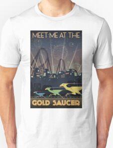 Final Fantasy VII Gold Saucer Travel Poster T-Shirt