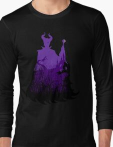 Midnight Maleficent Long Sleeve T-Shirt