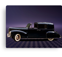 1941 Lincoln Continental City Limousine once owned by Henry Ford Canvas Print