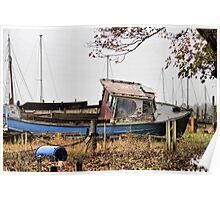 Old Boat. Poster