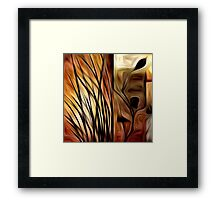 Abstract Nature Oil Painting #1 Framed Print