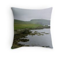 Sumburgh Head Throw Pillow