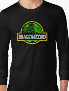 Jurassic Power Green Long Sleeve T-Shirt